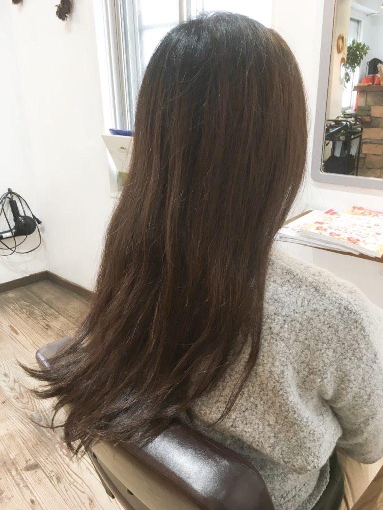 髪質改善 ビフォー マイフ