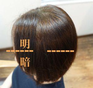 縮毛矯正している髪のヘナ染めした場合