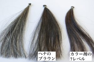 ヘナとヘアカラーの違い ブログ 吹田