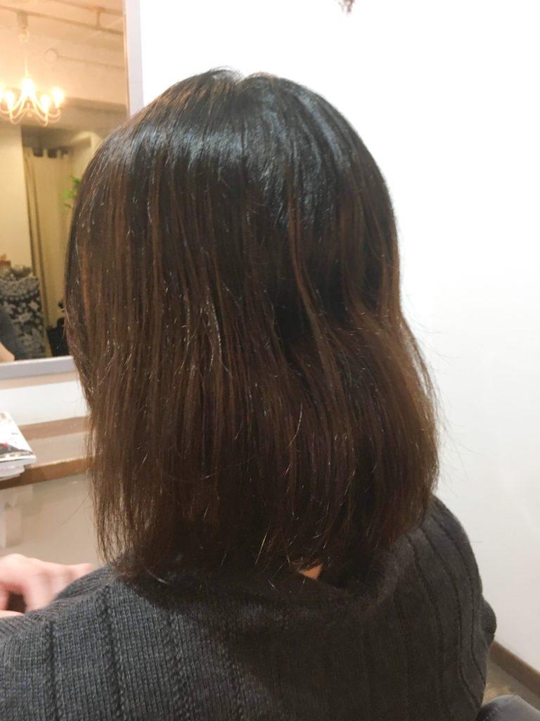 ヘナ 髪質改善 する前
