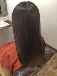 髪質改善 アフター 千里山 美容室
