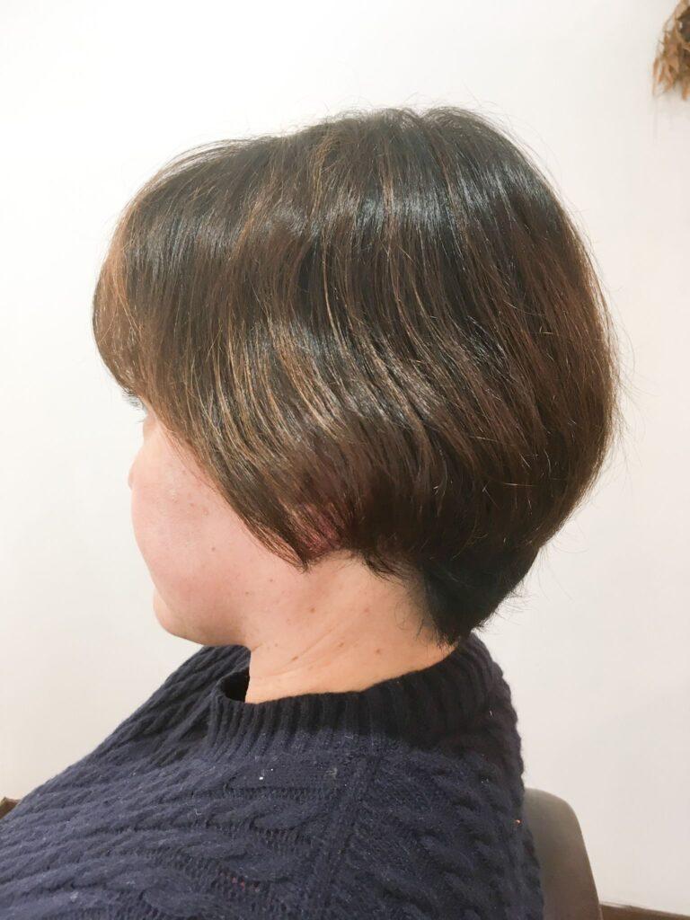 髪質改善した後